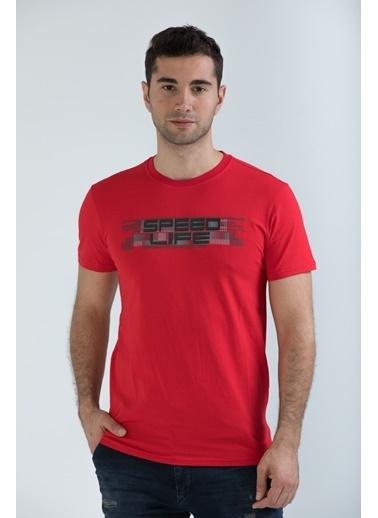 Speedlife Tişört Kırmızı